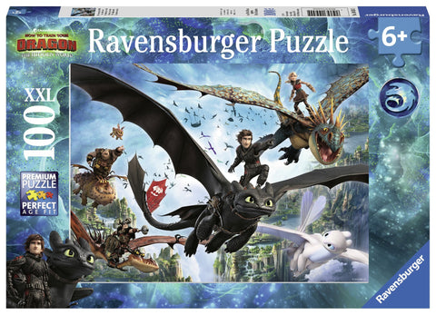 Ravensburger How To Train Your Dragon palapeli