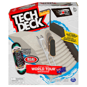 Tech Deck Build A Park - Martin Place