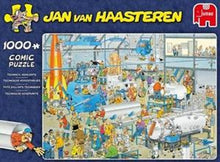 Jan Van Haasteren Palapeli, Technical Highlights, 1000 palaa i