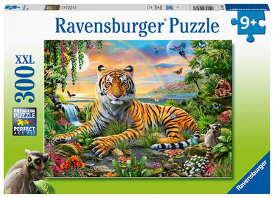 Palapeli Tiger at Sunset XXL 300 palaa | Ravensburger