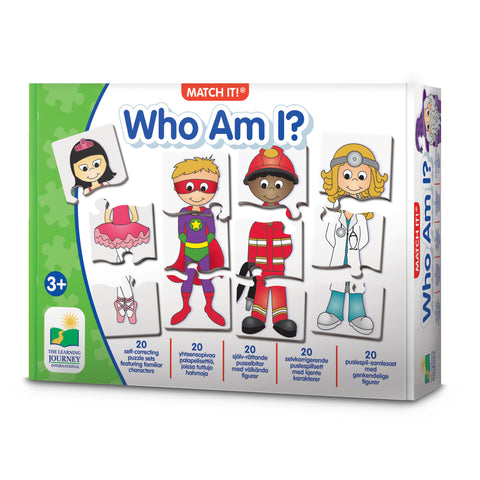 Match it | Who Am I -peli