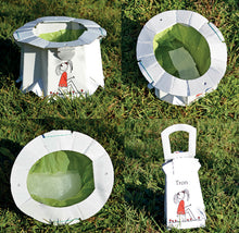 Tron flat packed potty - 6 Pack