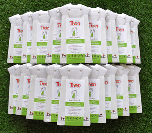 Tron Flat Packed Disposable Travel Potty 30 Pack
