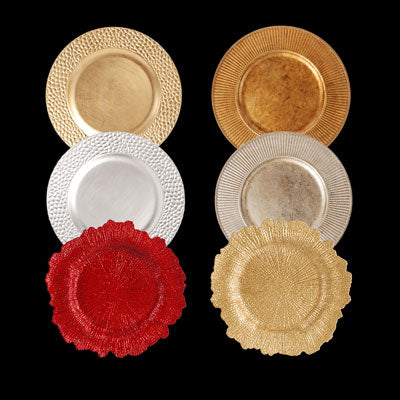 Palate & Plate Charger Plates assortment