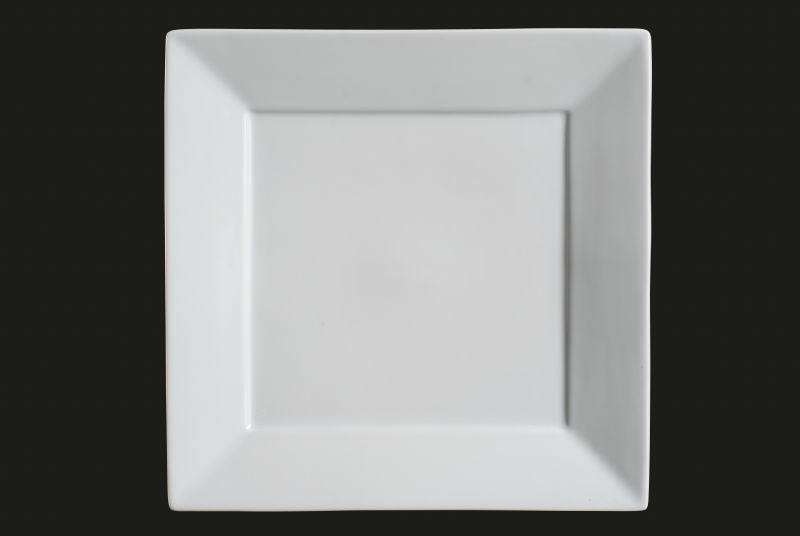 AW-0625 AW-0625 8.5\  Square Plate White Chinaware Top ... & AW-0625: 8.5\