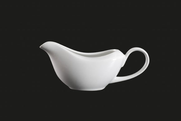 AW8294: Gravy Boat 8 oz. White Chinaware Top View