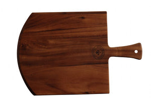 "WP0734: 19.5 x 13.75"" Pizza Board Brown Top View"