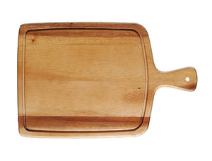 "WP0758: 14 x 9"" Paddle Board Brown Top View"