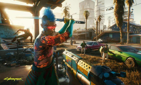 Cyberpunk 2077 featured in article by AJ Forrisi on Soesic Gaming