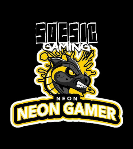 Neon Gamer Twitch Chanel as a Featured Streamer for Soesic Gaming