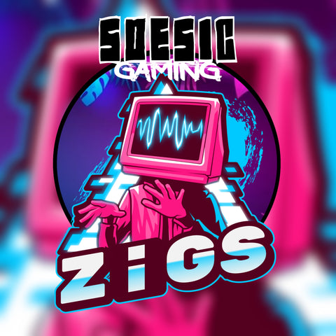 ZiGsTV Twitch Chanel as a Featured Streamer for Soesic Gaming
