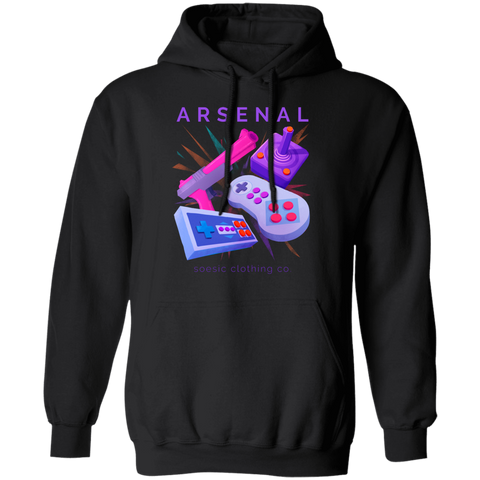 Retro Arsenal Gamer Hoodie-Soesic Gaming