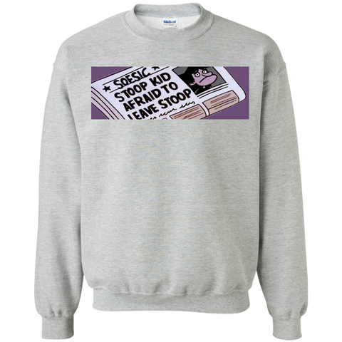 Soesic 'Stoop Kid' Throwback Crewneck Sweatshirt-Soesic Gaming