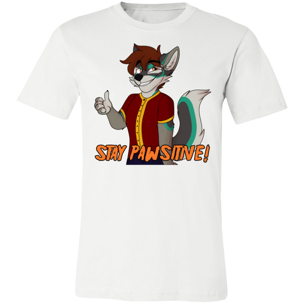 Stay Pawsitive! Tarvesh Official Tee