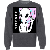 Soesic 'Hello Alien' Crewneck Sweatshirt-Soesic Gaming