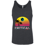 Critical Hit (dark) men's gamer tank top-Soesic Gaming