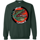 Old School Soesic Raptor Logo Crewneck Sweatshirt-Soesic Gaming