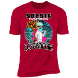 'Dex's Gaming Lab' Men's Short Sleeve T Shirt ~ DexGaming112 as a Featured Streamer for Soesic Gaming-Soesic Gaming