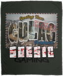 'Welcome to the Gulag' 50x60 Plush Fleece Blanket-Soesic Gaming
