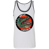 Old School Soesic Raptor Logo men's tank top-Soesic Gaming