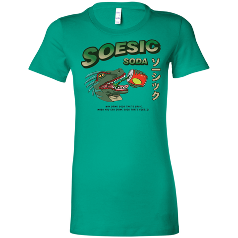 Soesic Soda Ad Ladies' T-Shirt