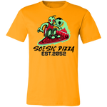 'Soesic Pizza 2052' Men's Short Sleeve T Shirt-Soesic Gaming