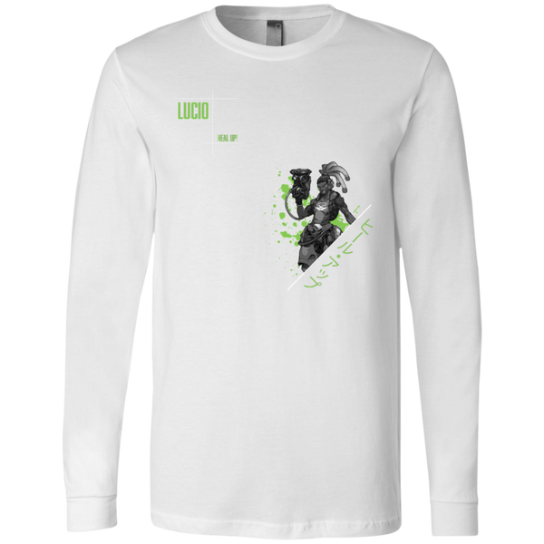 Lucio Overwatch Support the Planet LS Tee
