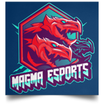 Magma Esports Square Poster-Soesic Gaming