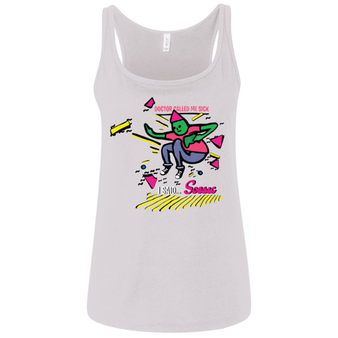 'I'm Sick' women's tank top-Soesic Gaming