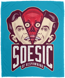 'Soesic of Respawning' 50x60 Plush Fleece Blanket-Soesic Gaming