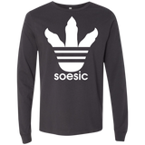 Soesic Raptor Claw - White Claw - men's long sleeve t shirt-Soesic Gaming