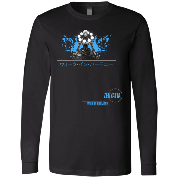 Zenyatta Overwatch Support the Planet LS Tee