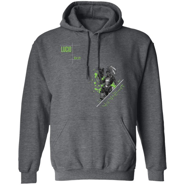 Lucio Overwatch Support the Planet Hoodie