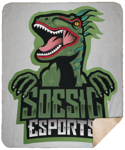Soesic Esports Sherpa Blanket - 50x60-Soesic Gaming