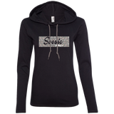 Soesic Clothing Co Floral Logo Women's Lightweight Hoodie-Soesic Gaming