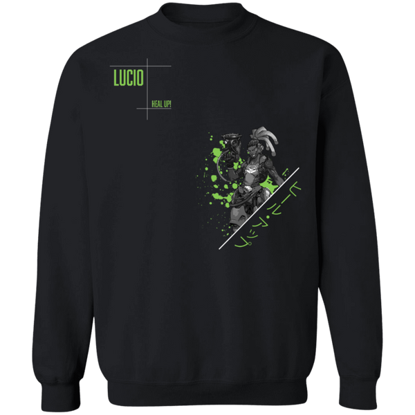 Lucio Overwatch Support the Planet Crewneck