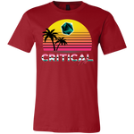 Critical Hit (dark) men's short sleeve gamer t shirt-Soesic Gaming