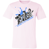 Thunderdome Blue Splatter Men's Short Sleeve T Shirt ~ DemShenaniganss as a Featured Streamer for Soesic Gaming-Soesic Gaming