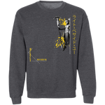 Mercy Overwatch Inspired Support the Planet Crewneck Gamer Sweatshirt-Soesic Gaming