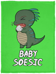 Baby Soesic 30x40 Plush Fleece Blanket-Soesic Gaming