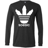 White Soesic Raptor Claw LS T-Shirt