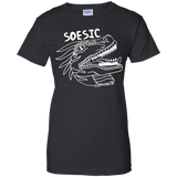Soesic Raptor - White Raptor - women's short sleeve t shirt-Soesic Gaming