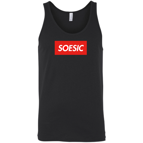 'Soesic Stop' Men's Tank Top-Soesic Gaming