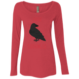 Dark Raven Women's Long Sleeve T Shirt-Soesic Gaming