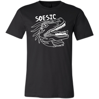 White on Black | Soesic Raptor Tee