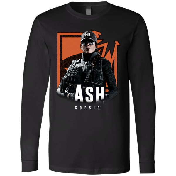 R6S FBI - Ash Badge LS Tee