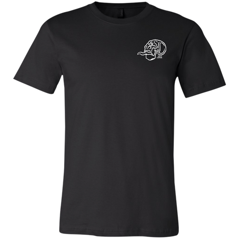 'Soesic Skull' Men's Short Sleeve Gamer T Shirt-Soesic Gaming