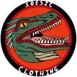 Old School Soesic Raptor Logo (left chest design) Women's Lightweight Hoodie-Soesic Gaming