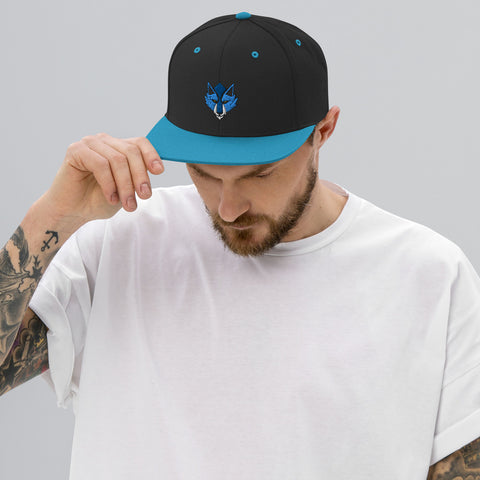 'NoctWolf Guild' Snapback Hat ~ NoctWolf as a Featured Streamer for Soesic Gaming-Soesic Gaming