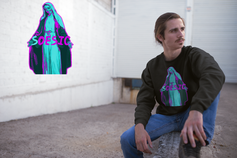 'Soesic Mary' Crewneck Sweatshirt-Soesic Gaming
